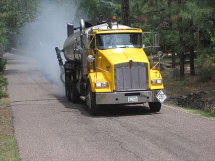Computer Rate Controlled Spreader Trucks in Phoenix