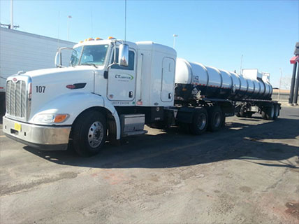 CT logistics for transportation of gases in Phoenix
