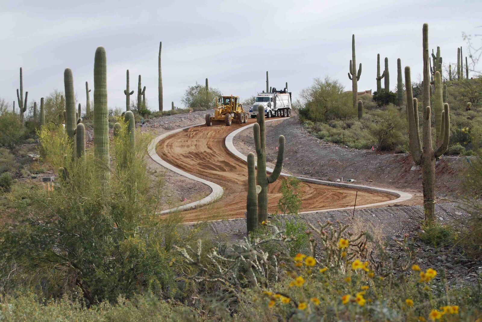 Dirt Road Construction