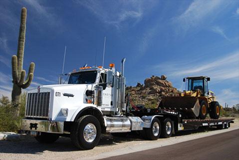 cactus asphalt heavy haul tractor transport phoenix