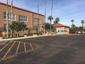 Phoenix Elementary Emerson Court Parking Lot