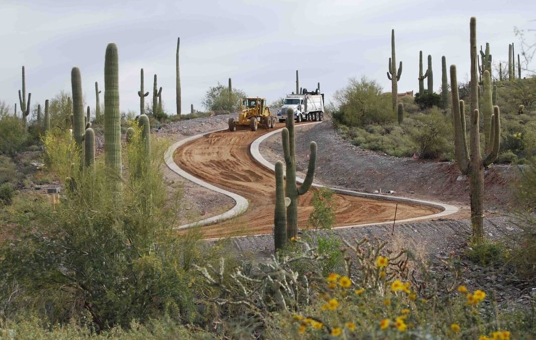Dirt Road Construction