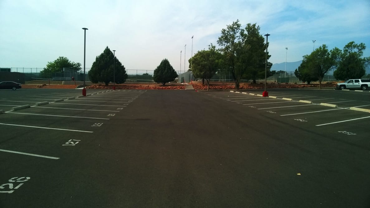 Mingus High School Parking Lot Improvements 2