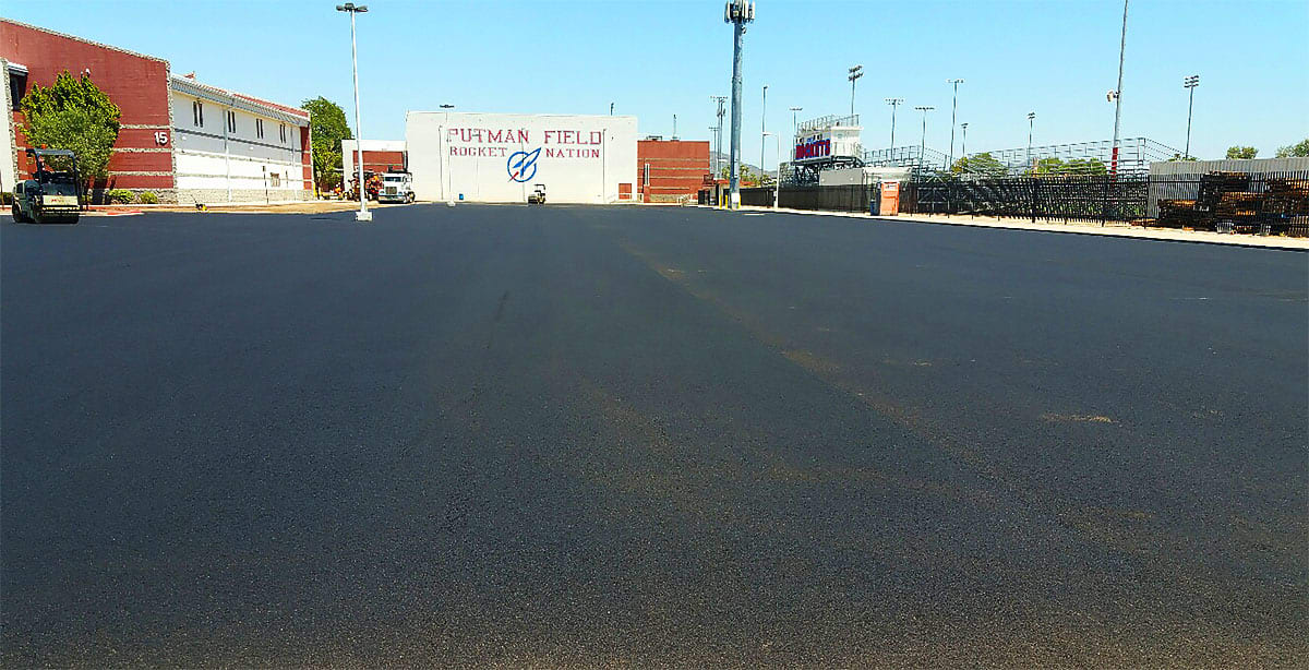 Asphalt Laid in Moon Valley High School