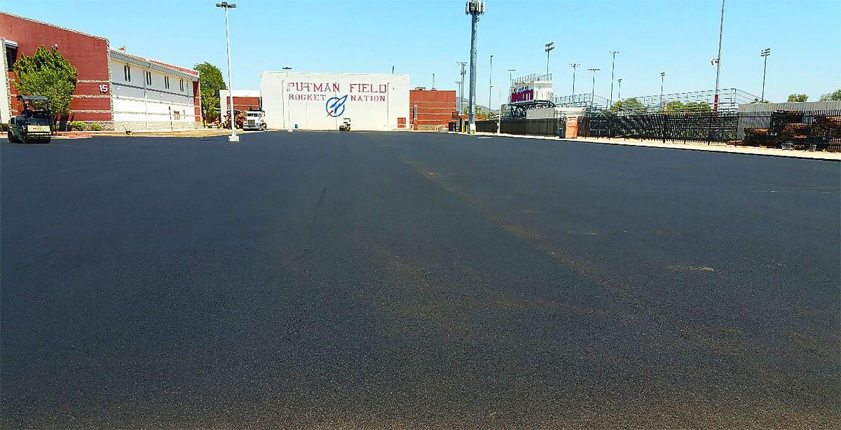 Moon Valley High School Asphalt Parking Lot